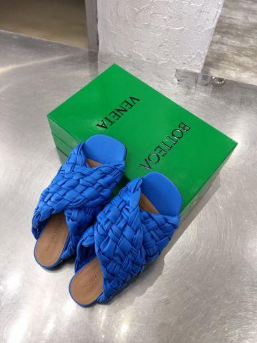 Фото Шлепки плетеные Cross Design Side, цвет синий - ukrfashion.com.ua