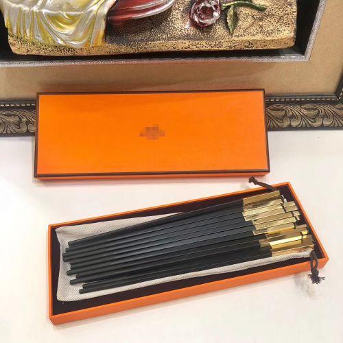 Фото Квадратные палочки для еды, десять пар в подарочной коробке - ukrfashion.com.ua