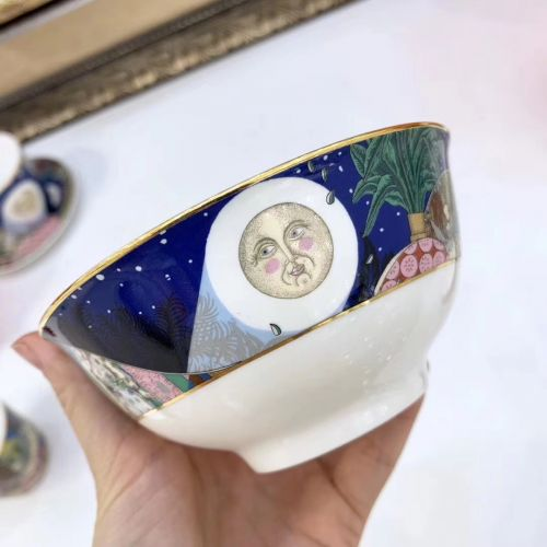 Фото Набор посуды «Сон в летнюю ночь» из фарфора, 10 элементов - ukrfashion.com.ua
