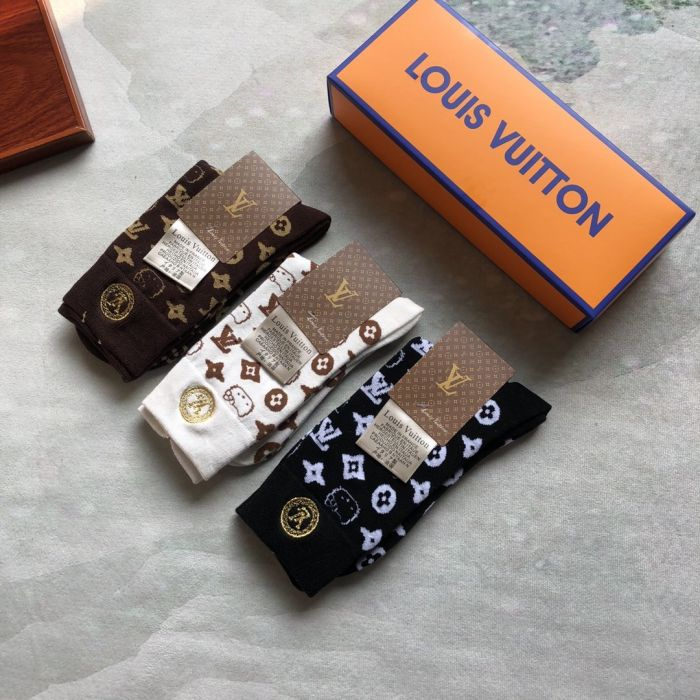 Носки, набор из 3 пар