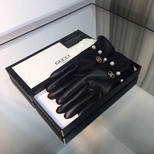 Перчатки кожаные counter