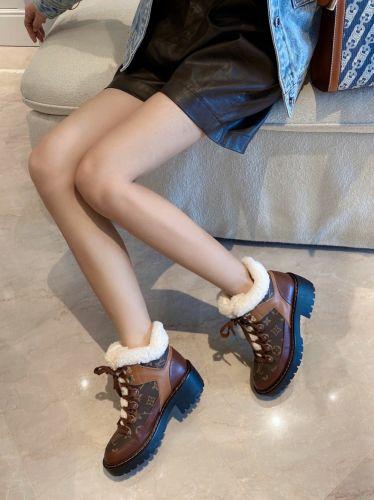 Фото Женские зимние ботинки мех + натуральная кожа - ukrfashion.com.ua