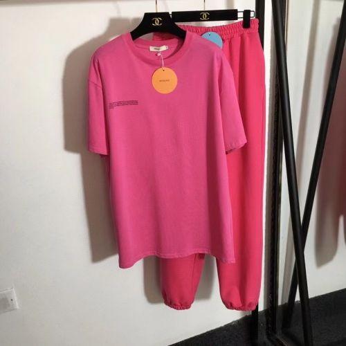 Фото Костюм спортивный, футболка и штаны, розовый - ukrfashion.com.ua