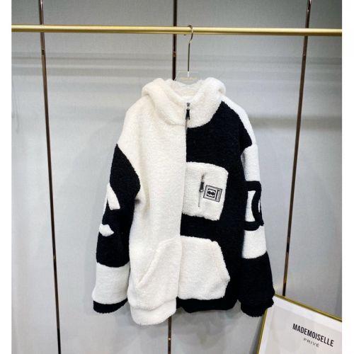 Куртка из овечьей шерсти утолщенная