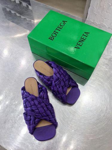 Фото Шлепки плетеные Cross Design Side, цвет фиолетовый - ukrfashion.com.ua