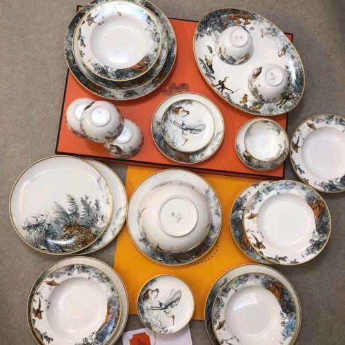 Фото Набор посуды из 28 предметов Equator Jungle Series - ukrfashion.com.ua