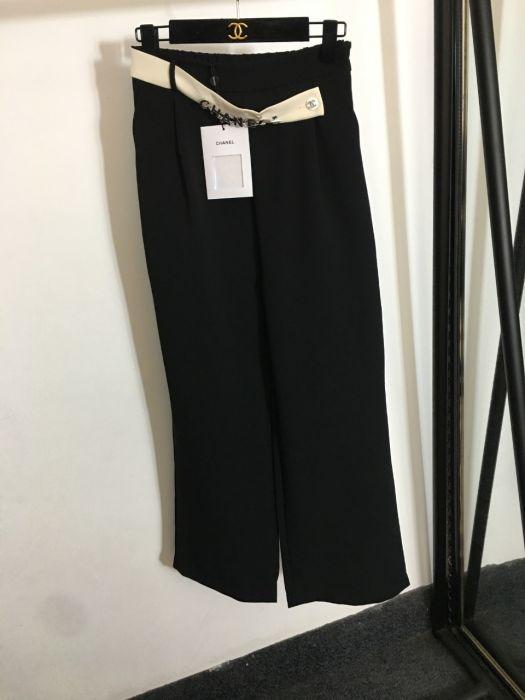 Широкие брюки женские черные