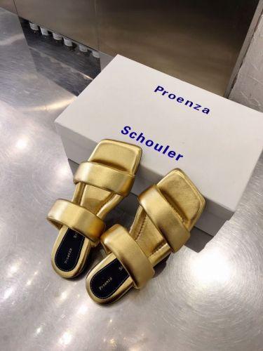 Фото Ультрамодные женские сандалии, цвет золотой - ukrfashion.com.ua