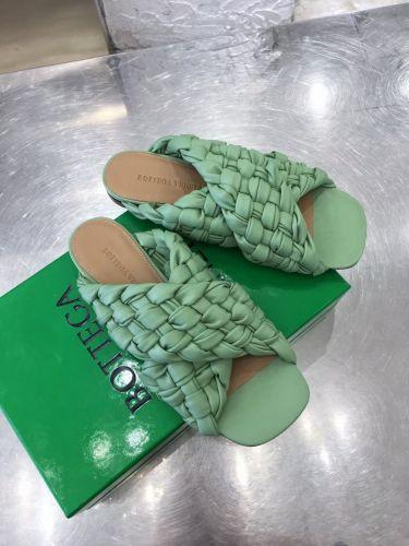 Фото Шлепки плетеные Cross Design Side, цвет зеленый - ukrfashion.com.ua