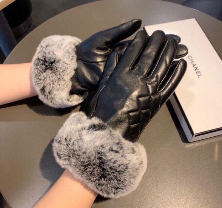 Фото Кожаные перчатки из овчины - ukrfashion.com.ua