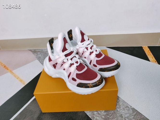 Фото Модные кроссовки красно-белые - ukrfashion.com.ua