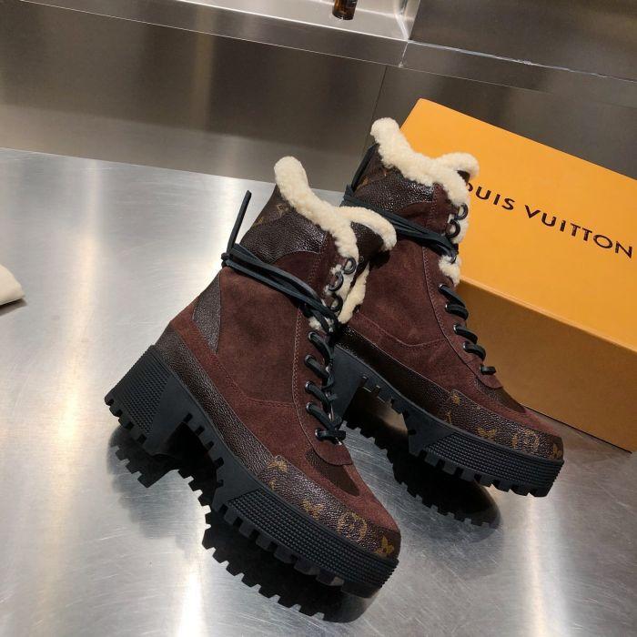 Фото Ботинки зимние кожаные с мехом - ukrfashion.com.ua