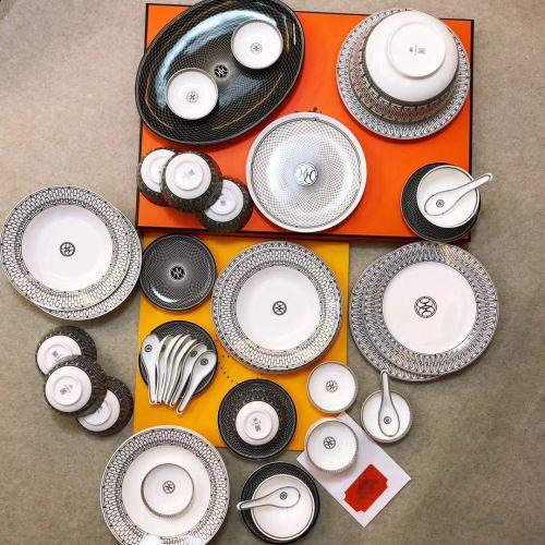 Фото Набор посуды из фарфора, 53 элемента - ukrfashion.com.ua