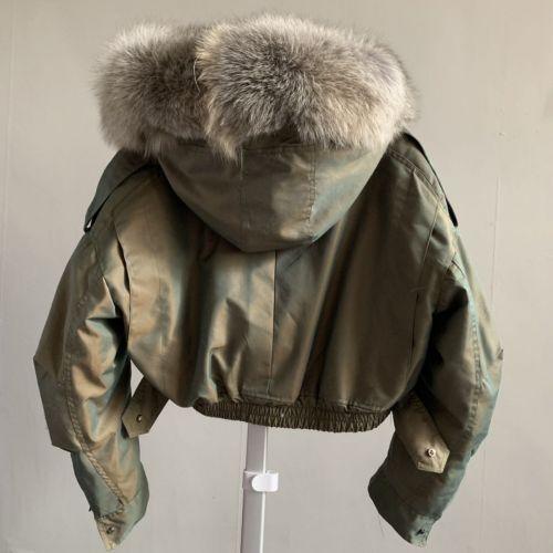 Фото Куртка зимняя с мехом лисы - ukrfashion.com.ua