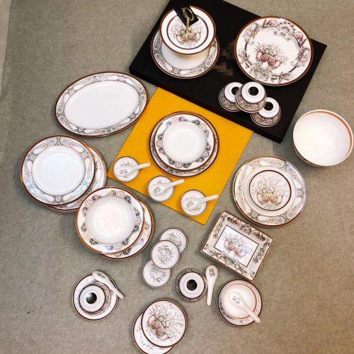 Фото Набор посуди из фарфора, 42 предмета - ukrfashion.com.ua