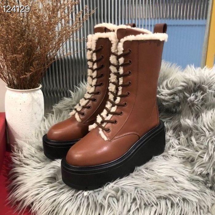 Фото Ботинки кожаные зимние - ukrfashion.com.ua