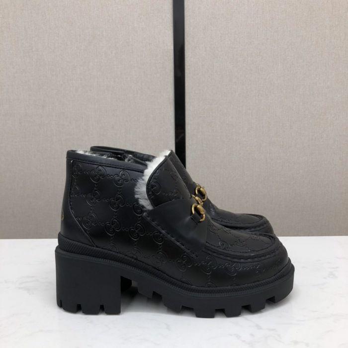 Фото Осенне-зимние ботинки на платформе - ukrfashion.com.ua
