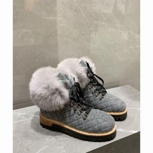 Роскошные зимние ботинки с кроличьим мехом