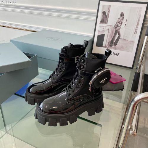 Ботинки женские, черные