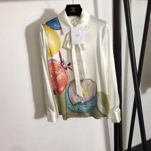 Фото Рубашка шелковая женская - ukrfashion.com.ua