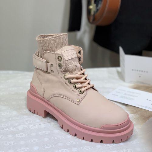 Фото Зимние ботинки из натуральной кожи Martin II с носком - ukrfashion.com.ua