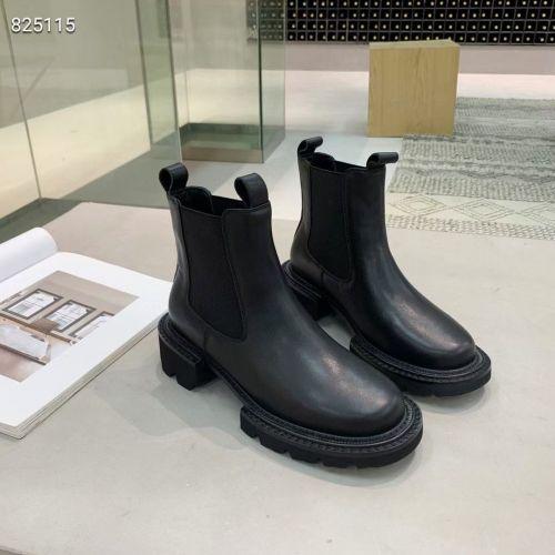 Фото Стильные ботинки из натуральной кожи - ukrfashion.com.ua
