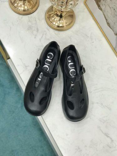 Фото Туфли женские, черные, кожа - ukrfashion.com.ua