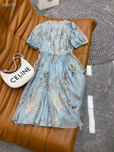 Платье летнее из натурального шелка