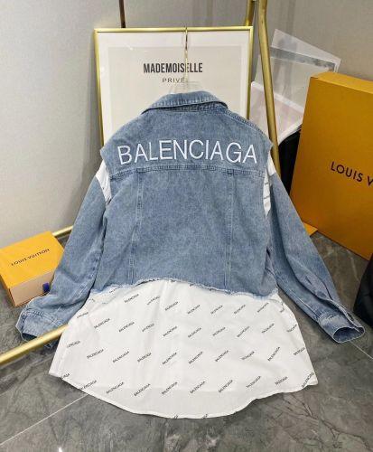 Фото Джинсовая жилетка с рубашкой женская - ukrfashion.com.ua