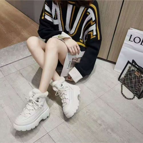 Фото Ботинки женские зимние кожаные + мех - ukrfashion.com.ua