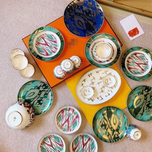 Набор посуды Ica Journey из фарфора, 33 предмета