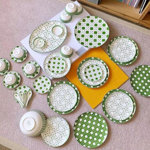 Набор посуды CANNAGE PROVENCE из 41 элемента на 8 персон, фарфор