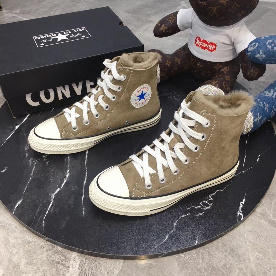 Converse Кеды с мехом, осень-зима 2020