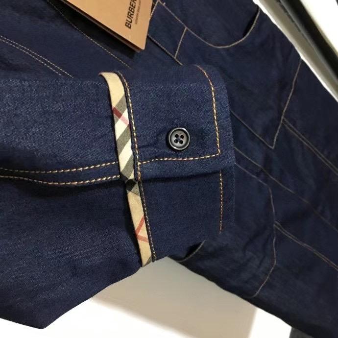 Burberry Платье джинсовое