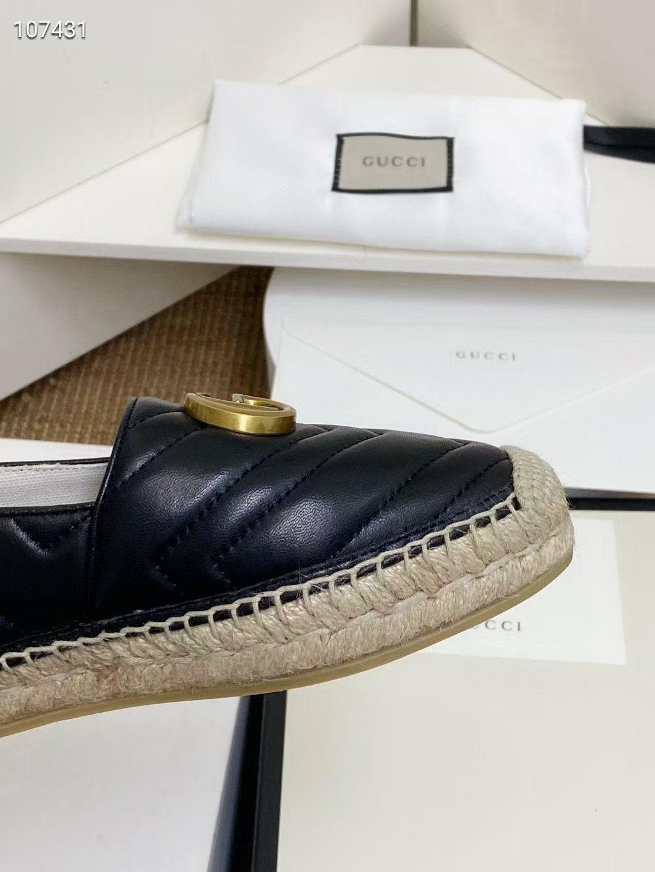 Gucci Балетки, натуральная кожа, черные