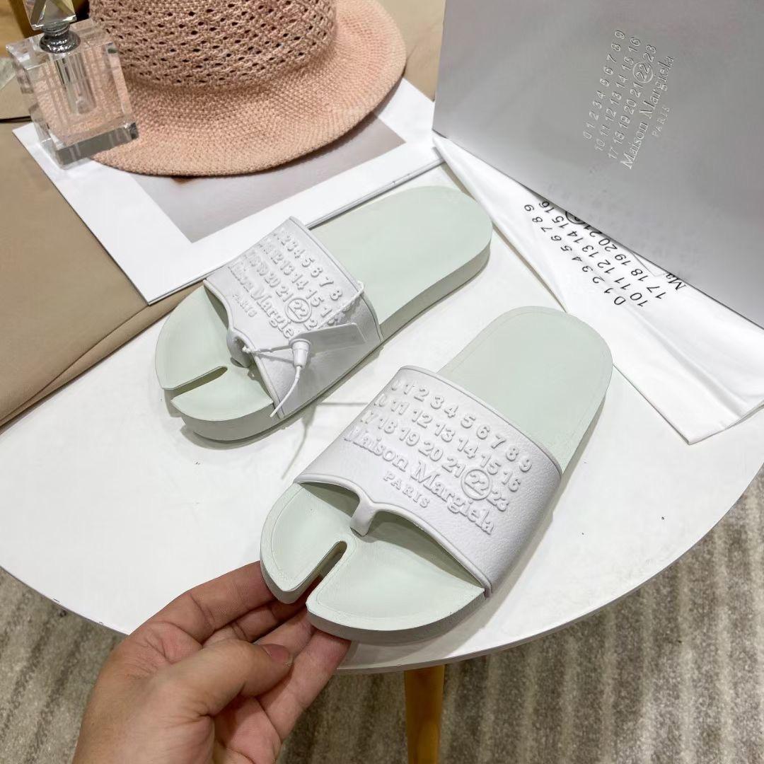 Maison Margiela Шлепки из коллекции 2021 года, белые