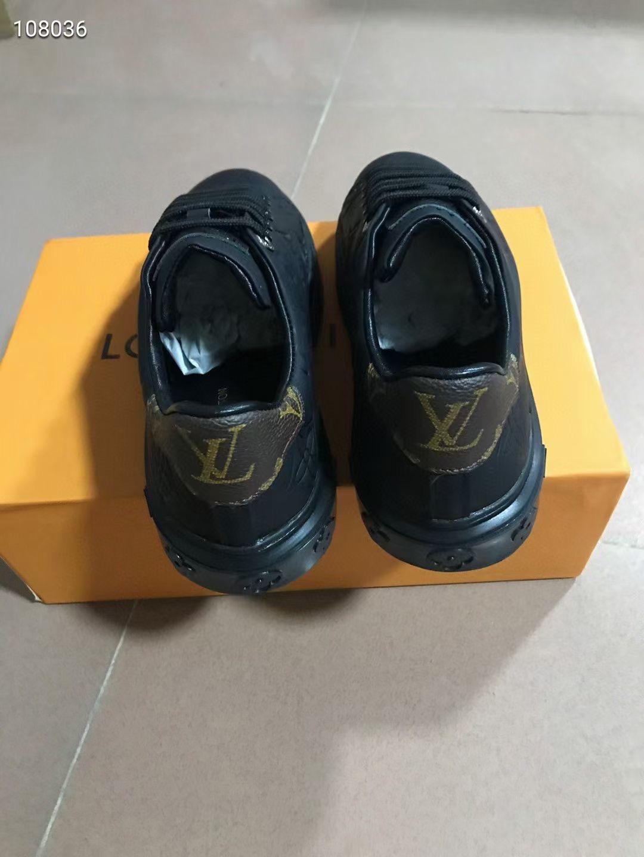 Louis Vuitton Кеды женские черные, кожа теленка