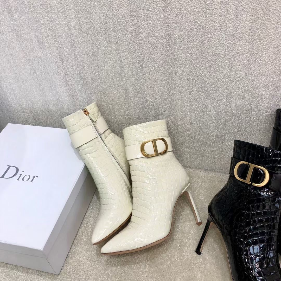 Dior Сапоги из натуральной кожи