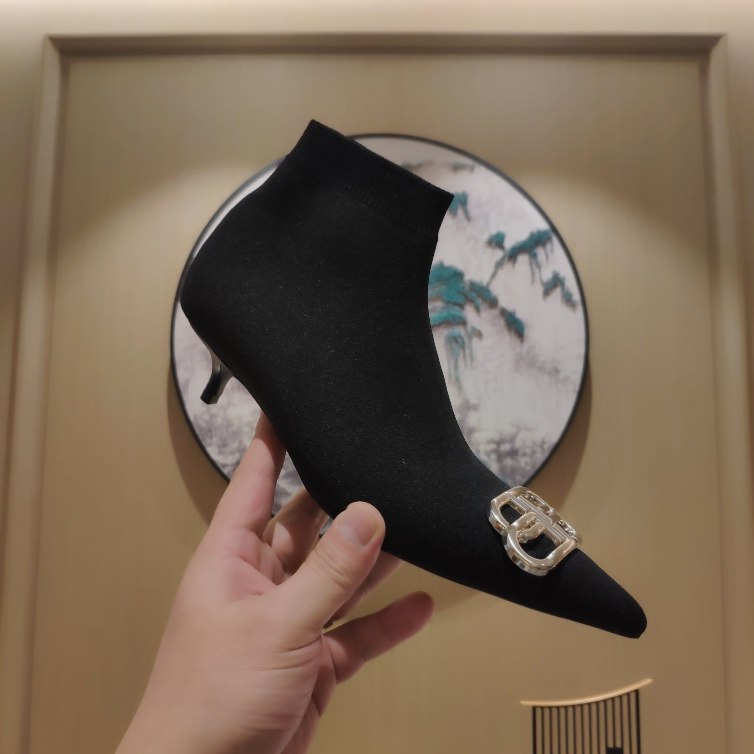 Balenciaga Туфли зимние Beisheng Socks Boots