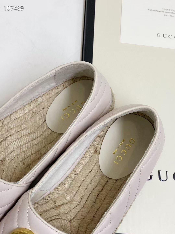 Gucci Балетки, натуральная кожа, бежевые
