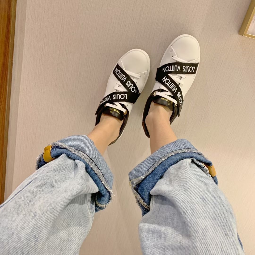 Louis Vuitton Белые туфли