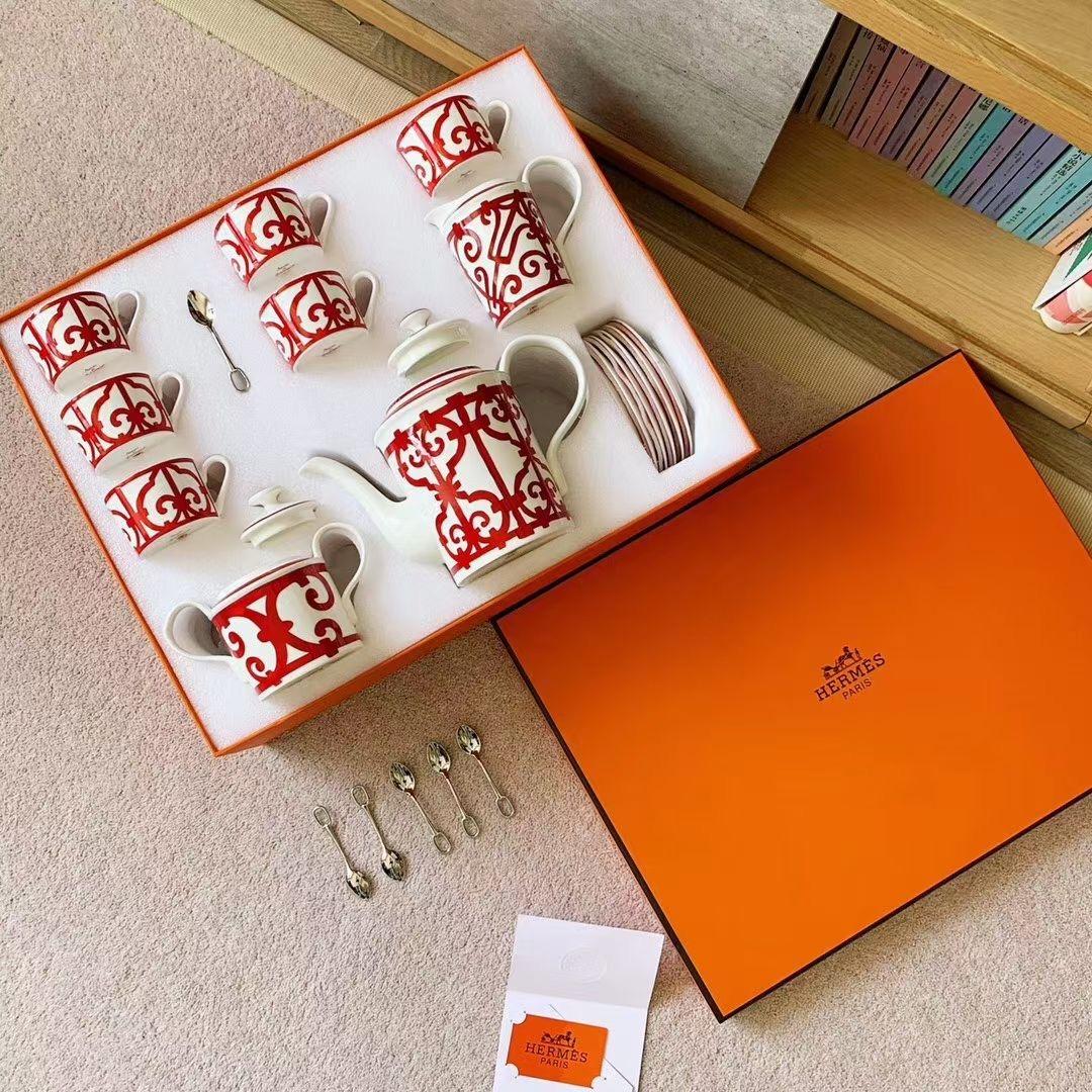 Фото Чайный набор из 15 элементов (фарфор) - ukrfashion.com.ua