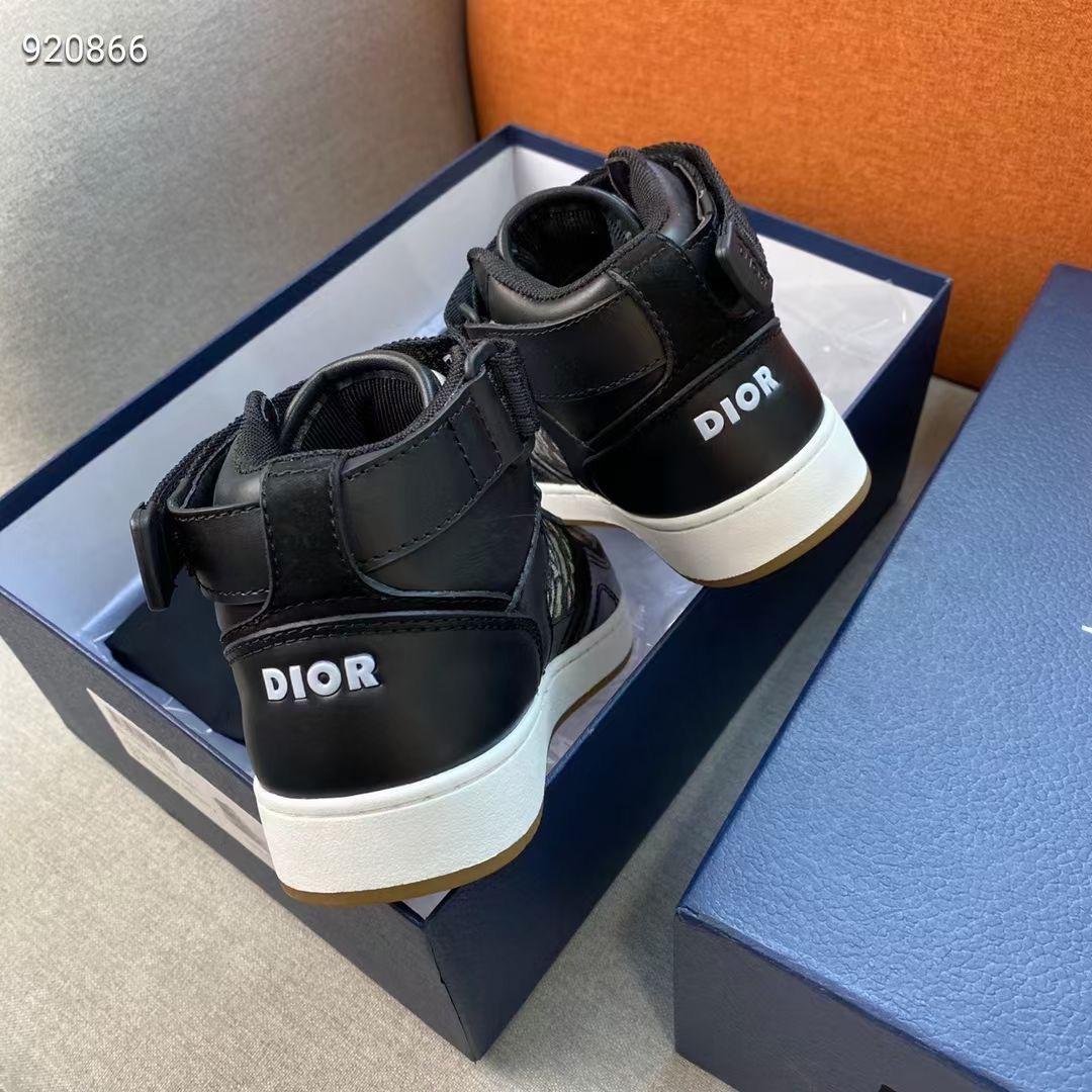 Dior Женские кроссовки черные