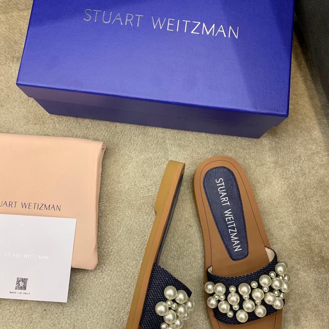 Stuart Weitzman Стильные шлепки