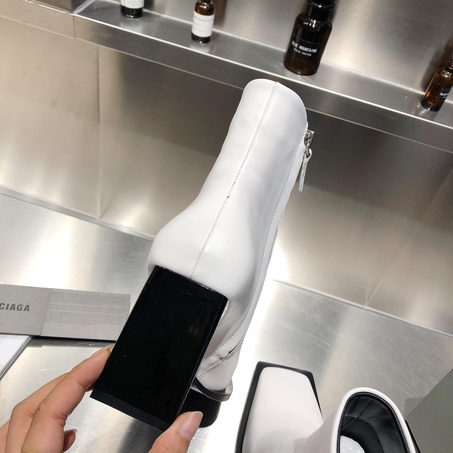 Balenciaga Ботинки с квадратным носком