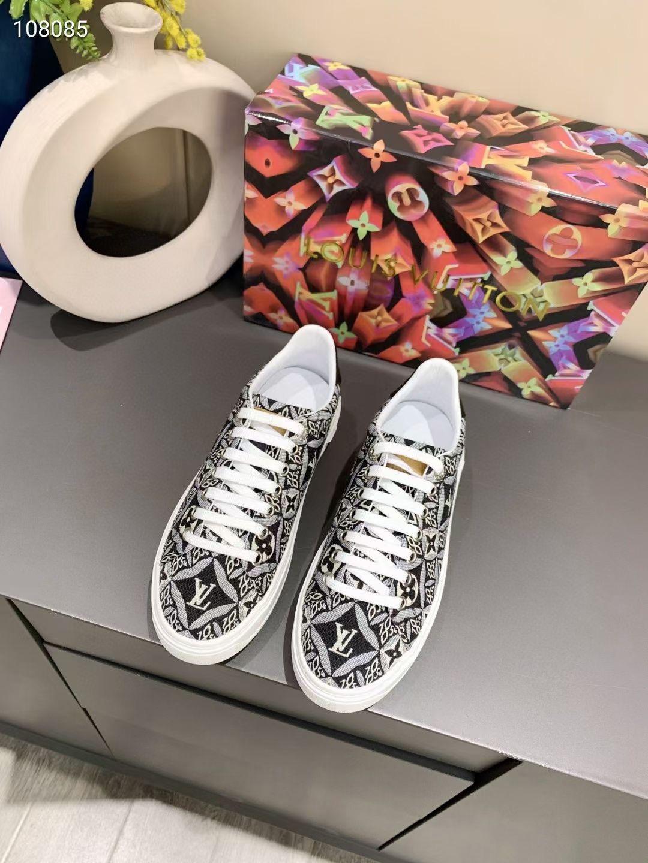 Louis Vuitton Кеды женские черные