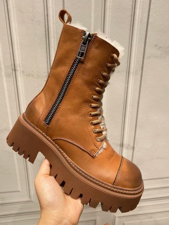 Фото Зимние женские ботинки из натуральной кожи - ukrfashion.com.ua