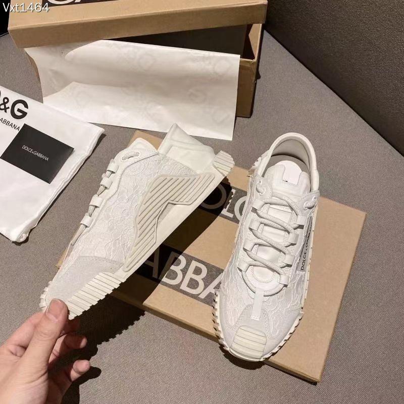Dolce & Gabbana Кроссовки женские, цвет белые