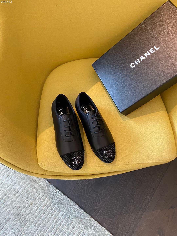 Chanel Балетки женские, замша + кожа
