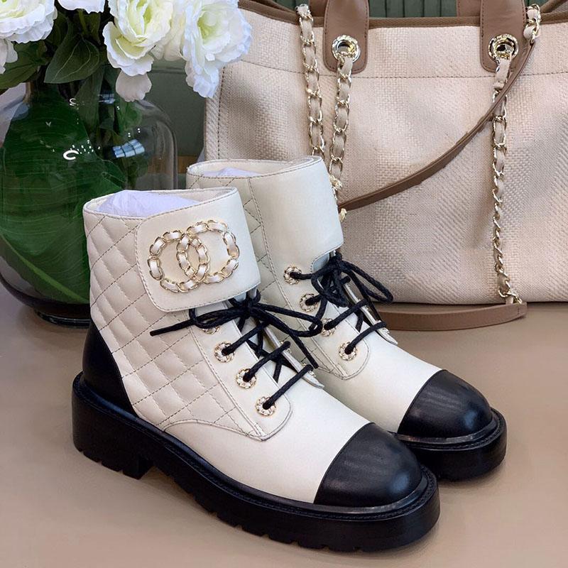 Фото Зимние женские кожаные ботинки - ukrfashion.com.ua